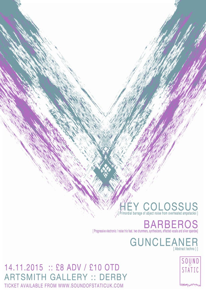 Image of Sound of Static @ Artsmith presents :: Hey Colossus + Barberos + more (Eticket)