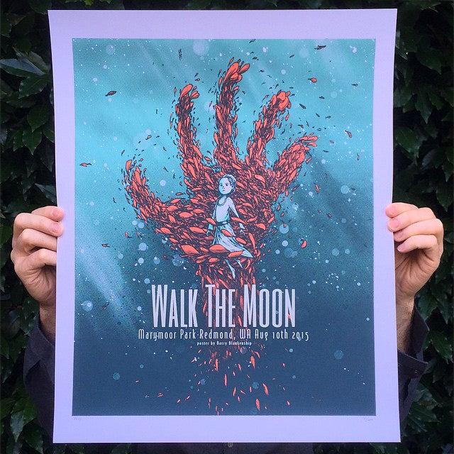 Image of Walk The Moon Marymoor Park 8/10/2015