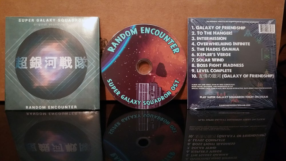 Image of Super Galaxy Squadron OST