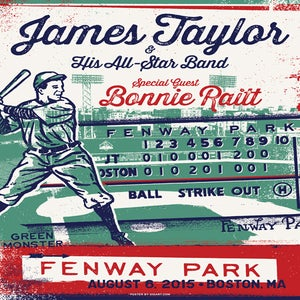 Image of James Taylor Fenway Park
