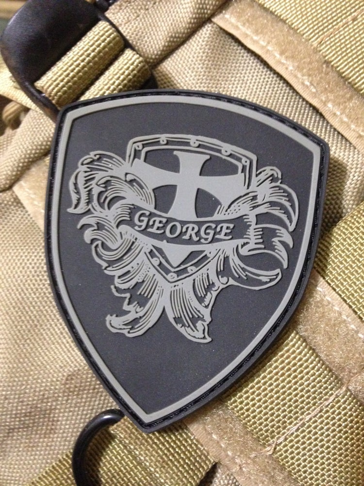 Image of George Knives Shield Patch