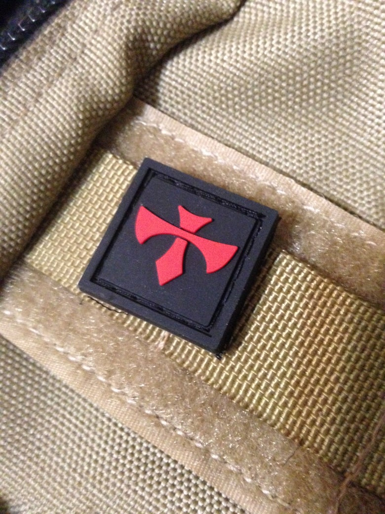 "Image of George Knives ""Jarhead eye"" patch"