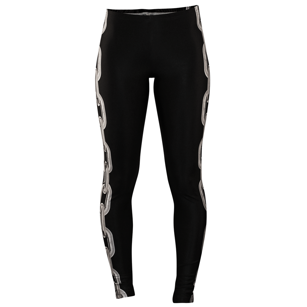 Image of LOCKED UP BLACK LEGGINGS