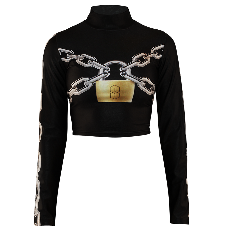 Image of LOCKED UP BLACK TURTLENECK