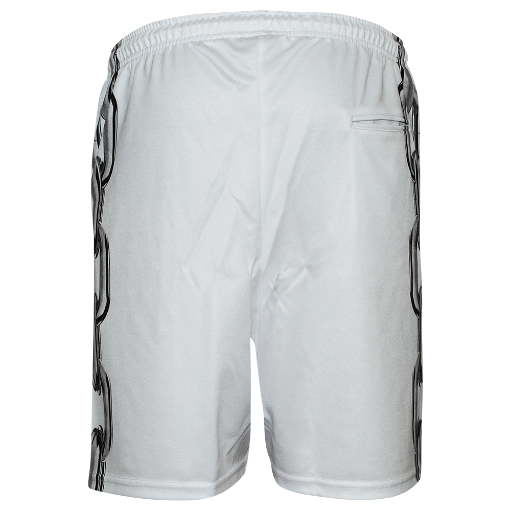 Image of LOCKED UP WHITE SHORTS