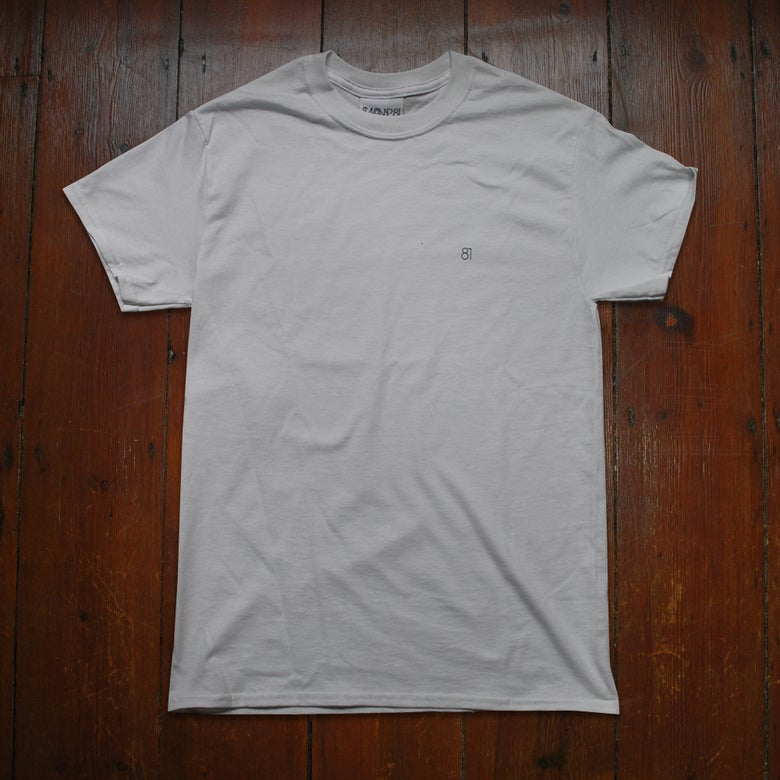 Image of 81 STAFF TEE WHITE