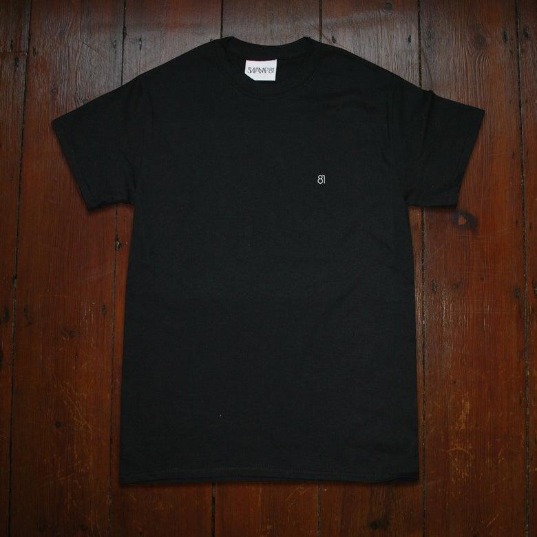 Image of 81 STAFF TEE BLACK