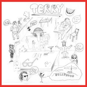 """Image of TERRY - 'Talk About Terry' 7"""""""