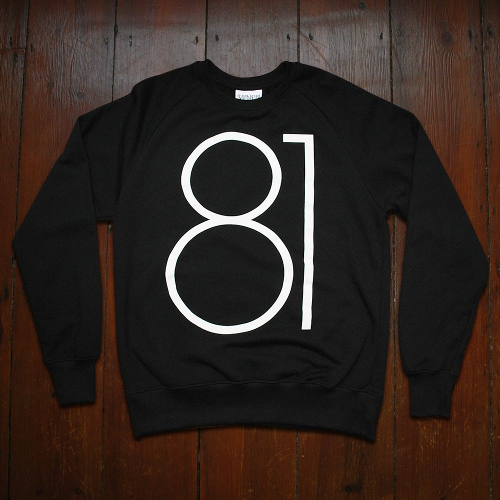 Image of BIG 81 JUMPER BLACK