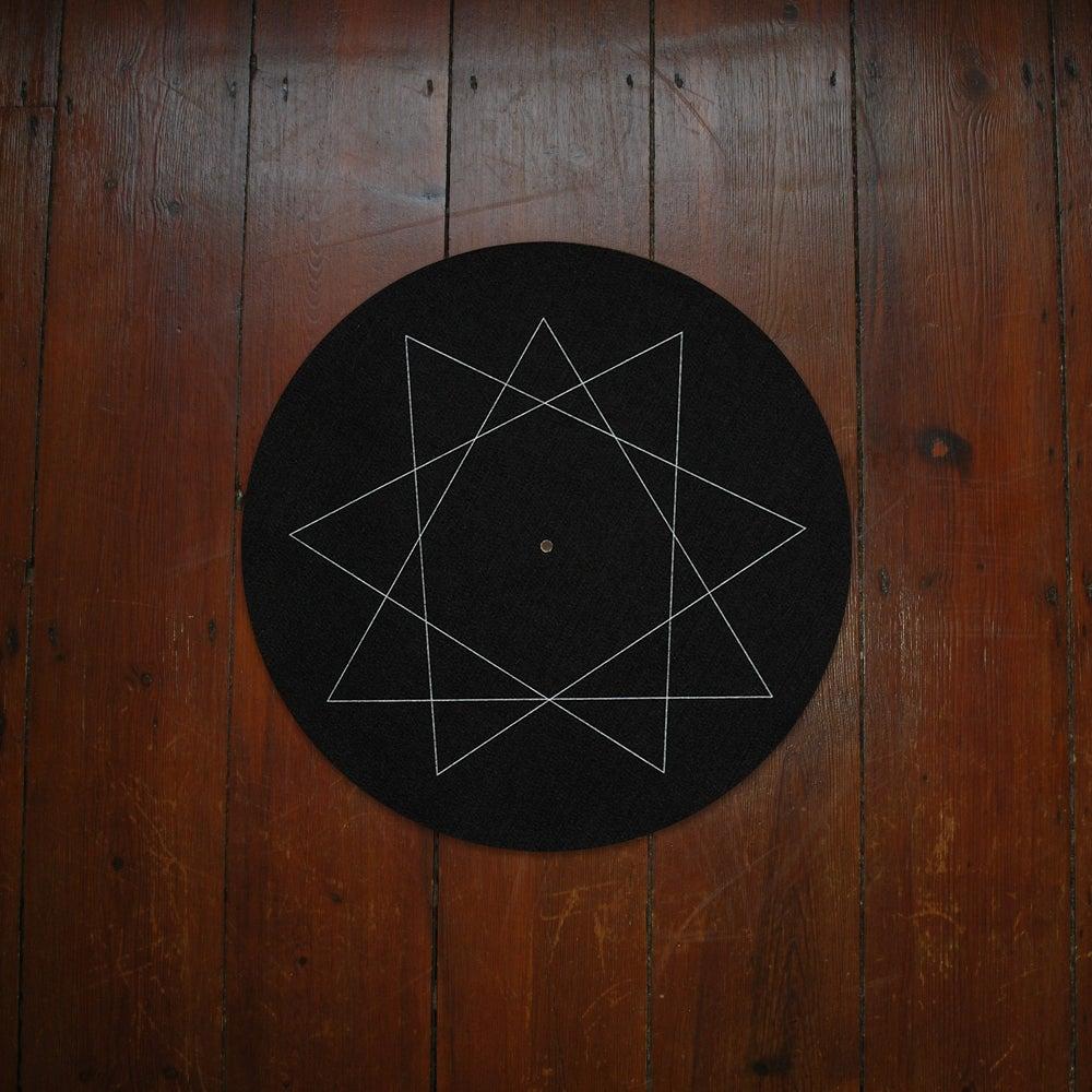 Image of NONOGRAM SLIPMAT PAIR BLACK