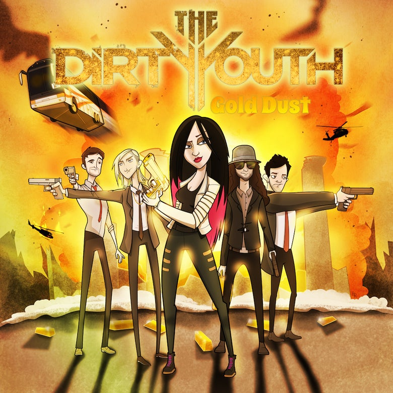 Image of The Dirty Youth - 'Gold Dust' CD