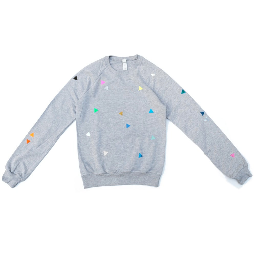 Image of Sweater Triangle grey ADULTS