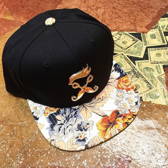 Image of Floral Snapback  RBSLifestyle hat