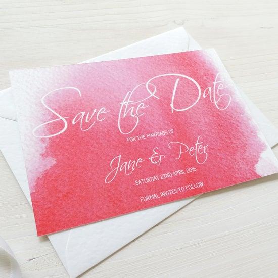 Image of Love Haze Bespoke Save The Date