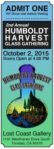 Image of Humboldt Harvest Glass Gathering VIP Ticket