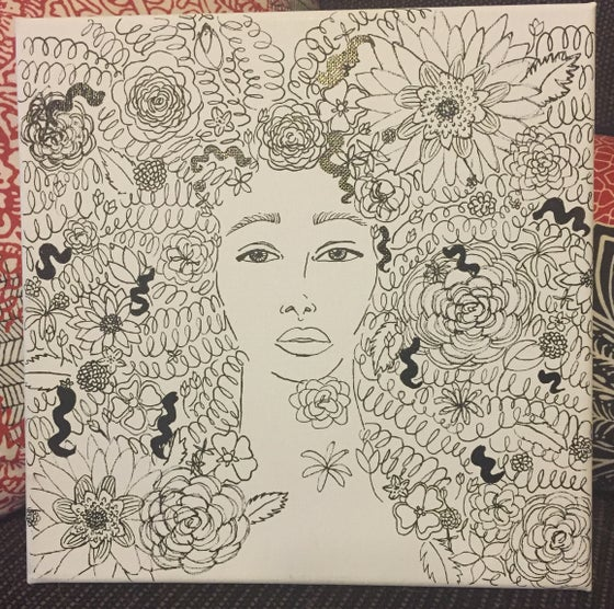 Image of Flower Child, I'm In Your Zone (PRINTS NOW AVAILABLE)
