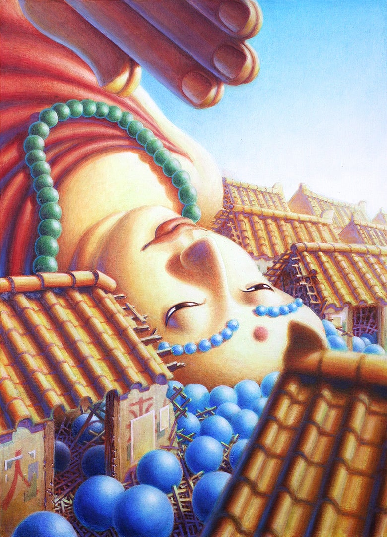 Image of Fallen Buddha
