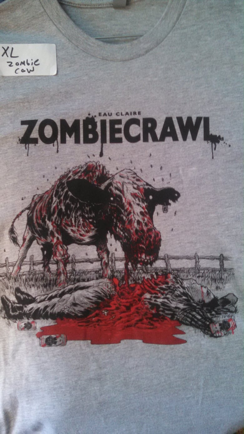 Image of Eau Claire Zombie Crawl - Tshirt