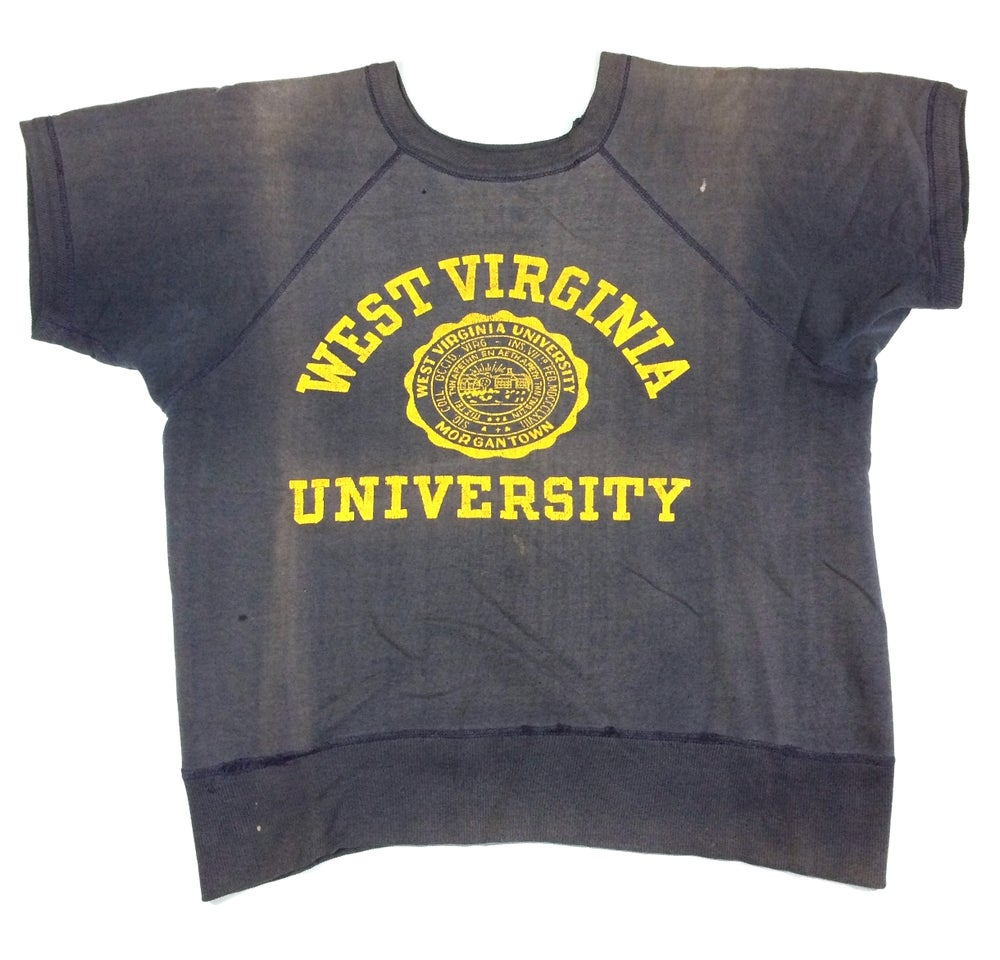 Image of UNIVERISTY SHORT SLEEVES SWEATSHIRT
