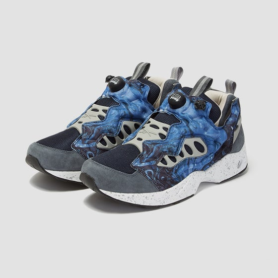 Image of Reebok x Garbstore Insta Pump Fury Road Sound Blue