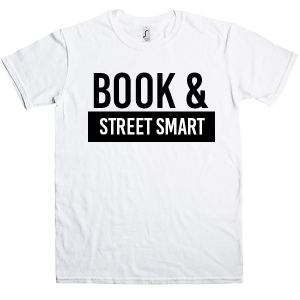 Image of Book & street smart (Men's) shirt