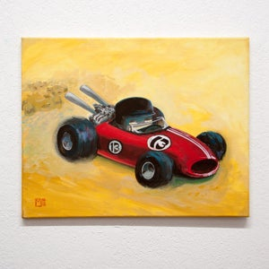 Formula Won - Matt Q. Spangler Illustration