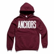 Image of ANCHORS Logo (Burgundy)