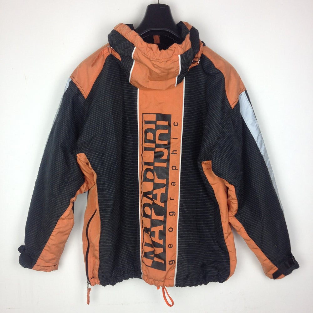 Image of NAPAPIJRI BLACK/ORANGE JACKET XL