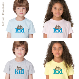 Image of City Kid toddler & kids tee