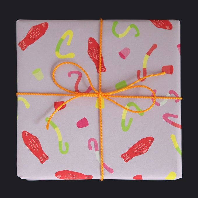 Image of Candy Gift Wrap