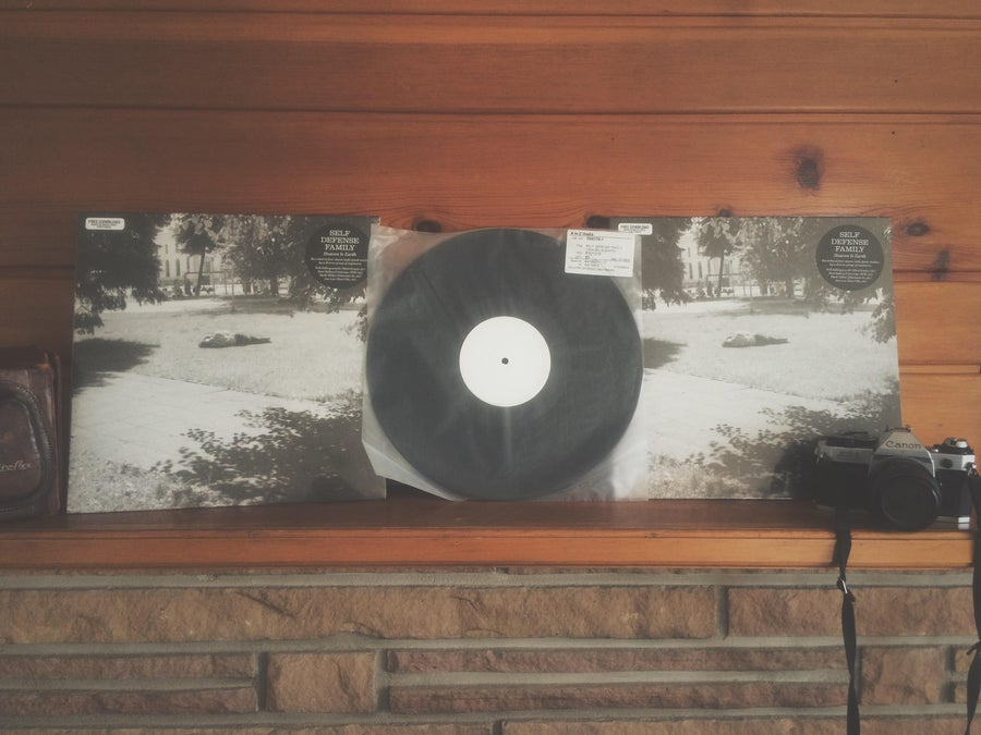 Image of Heaven Is Earth Test Press!