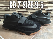 "Image of Nike KD 7 EXT QS ""Black Suede"""