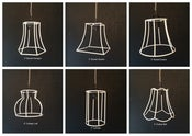Image of Mini Pendant Lampshade Frames