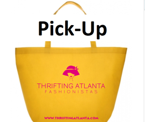 Image of Thrifting Atlanta Tote Bag (Local Pick-up at Thrifting Atlanta Event)
