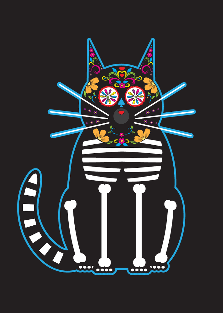 Image of Day of the Dead Cats