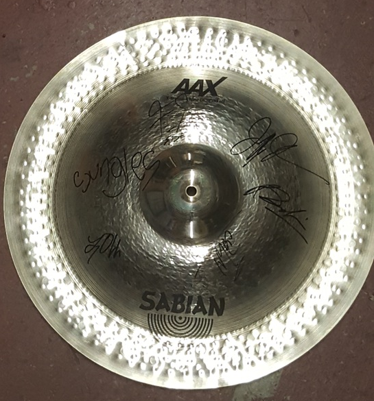 Image of Used & Signed China Cymbal