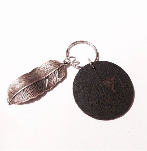 Image of LEATHER KEYRING