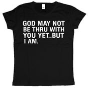 Image of God may not be thru (Women's) Black