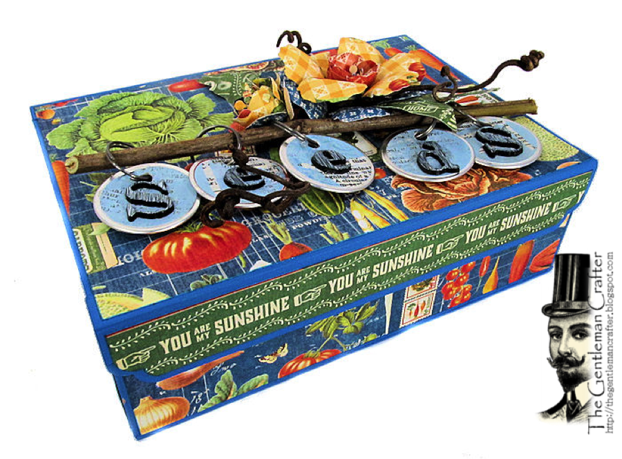 Image of Found Objects/Seed Collector's Box Tutorial- Instant DL