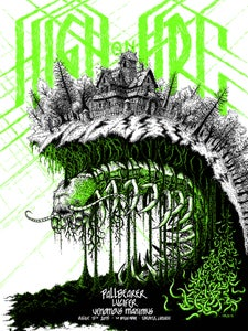 Image of High on Fire Poster 8-13-15 (click for photos)