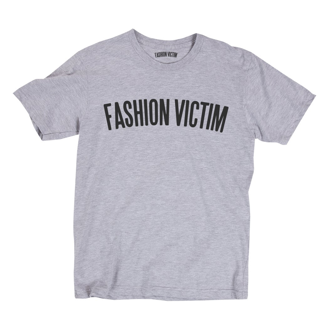 Image of Original Type Grey Tee w/ Black Print