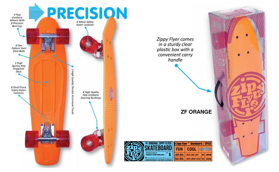 Image of ZIPPY FLYER SKATEBOARD