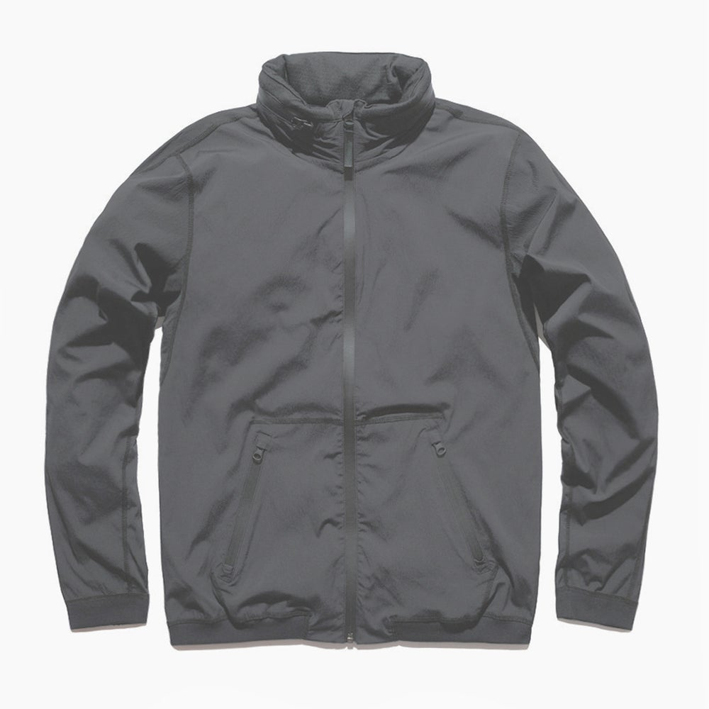 Image of Reigning Champ Stow Away Hood Jacket - STONE