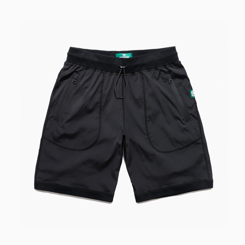 Image of Reigning Champ Stretch Nylon Short - BLACK