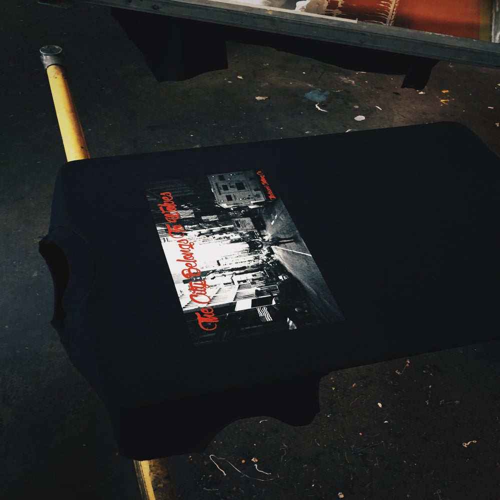 Image of The City Belongs To Wolves Tee