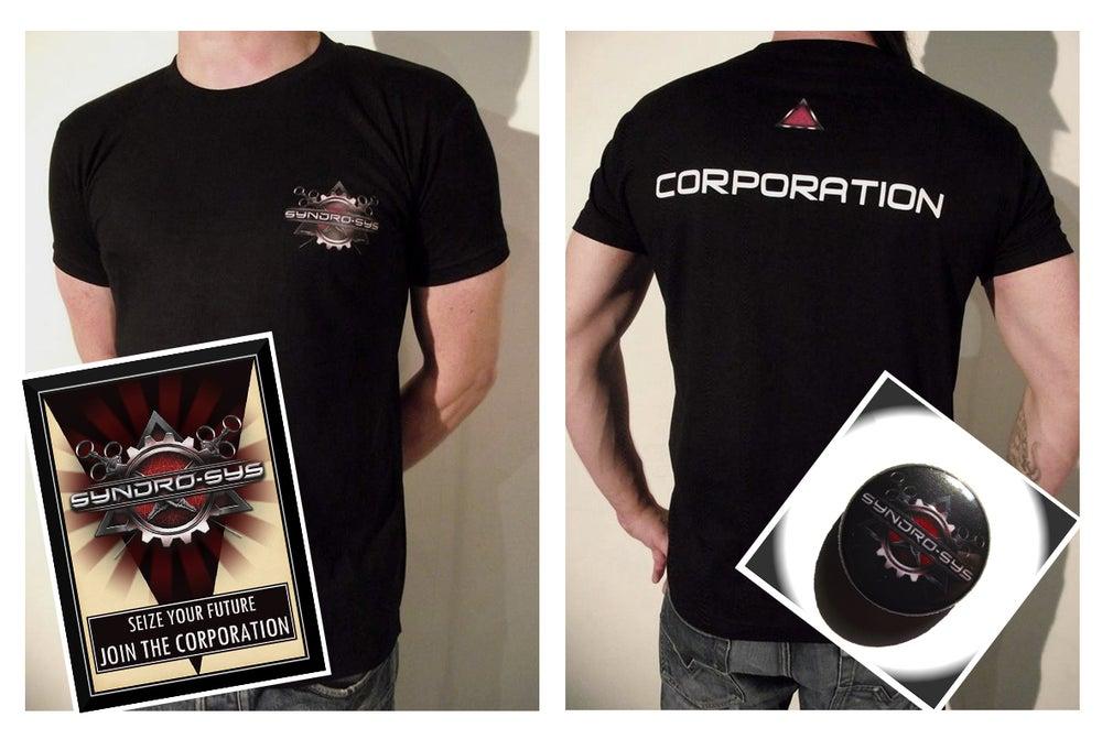 "Image of PACK ""CORPORATION"" + ALBUM DIGIPACK"