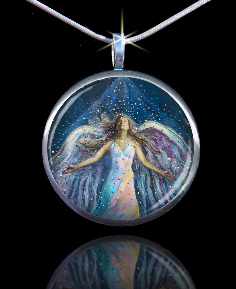 Image of The Blessing Angel Divine Energy Pendant