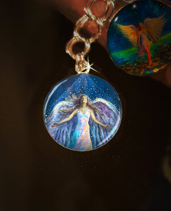 Image of The Blessing Angel Divine Energy Charm