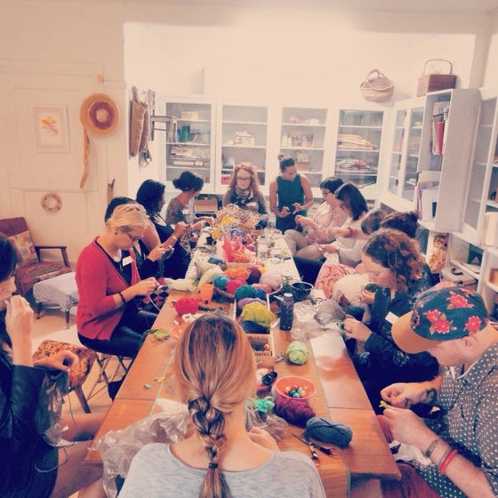 Image of Sustainable Mix media Coil weaving workshop @ The Camperdown Studios