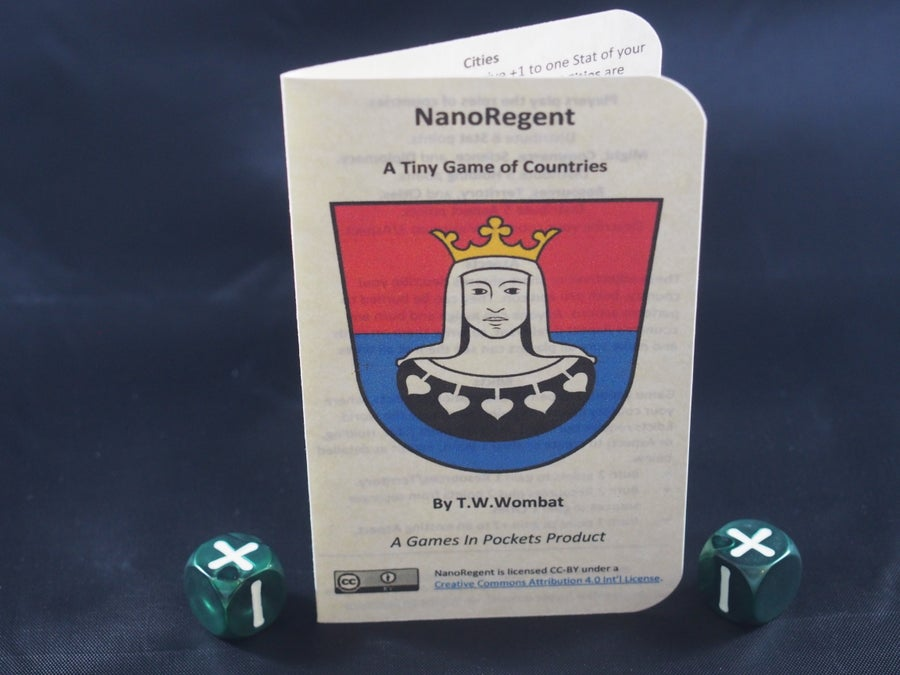 Image of NanoRegent Game